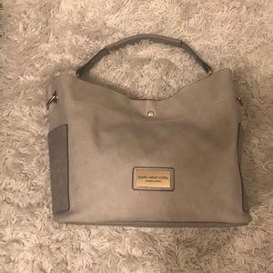 Gray Marc New York handbag/ has flaws